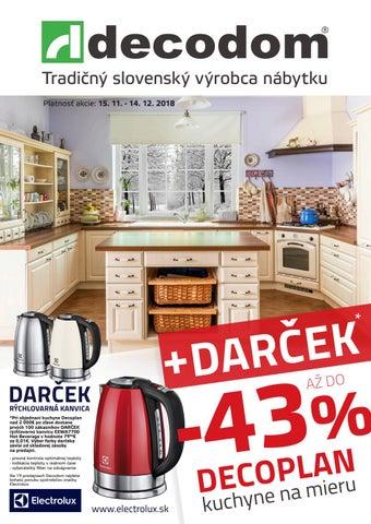 db7b30c3fd9f Tradičný slovenský výrobca nábytku Platnosť akcie  15. 11. - 14. 12. 2018