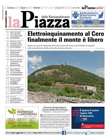 La Piazza della Bassapadovana nov2018 n143 by LaPiazza give