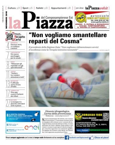 La Piazza del Camposampierese est nov2018 n151 by LaPiazza