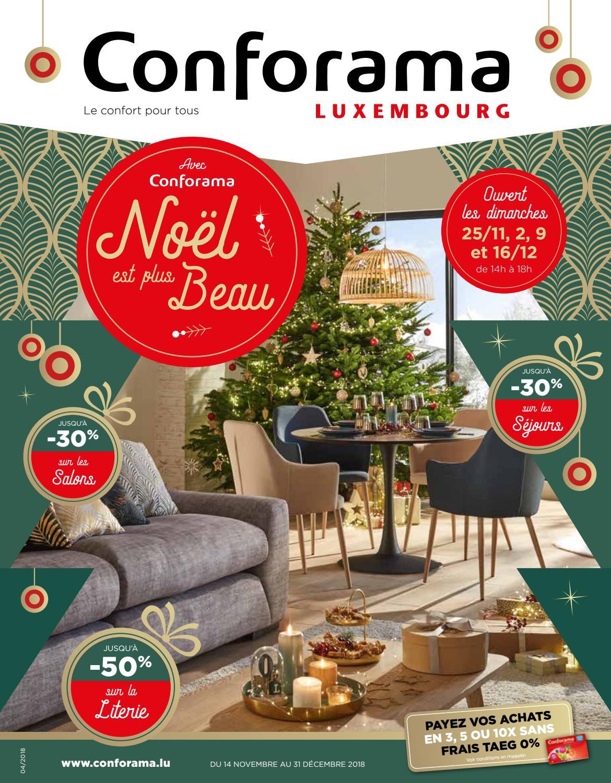 Doc04 Avec Conforama Noel Est Plus Beau By Conforama Luxembourg