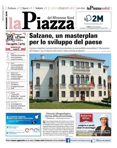 La Piazza del Miranese nord nov2018 n140 by LaPiazza give