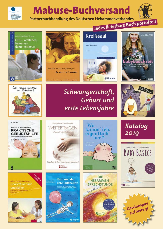 Buchkatalog Schwangerschaft Geburt Und Erste Lebensjahre 2019 By Mabuse Verlag Issuu