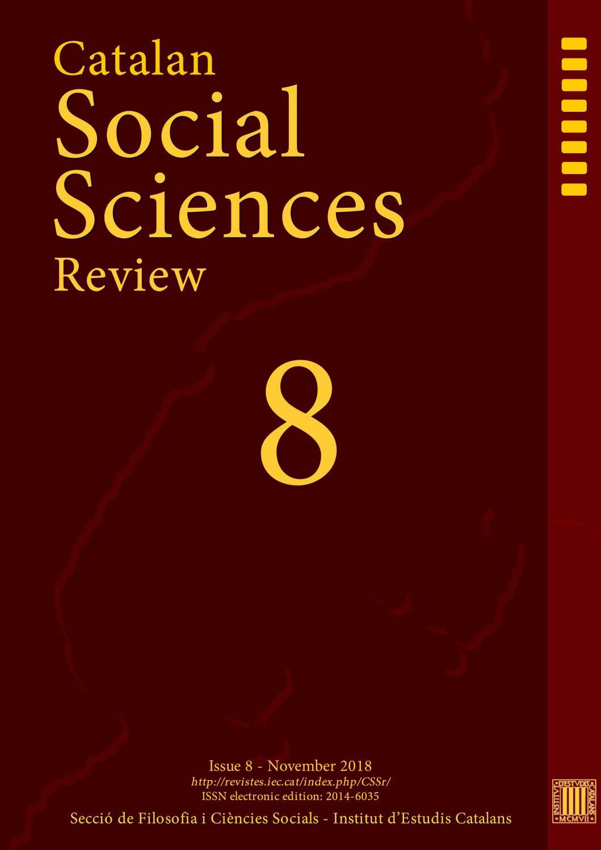 Catalan Social Sciences Review by Institut d'Estudis