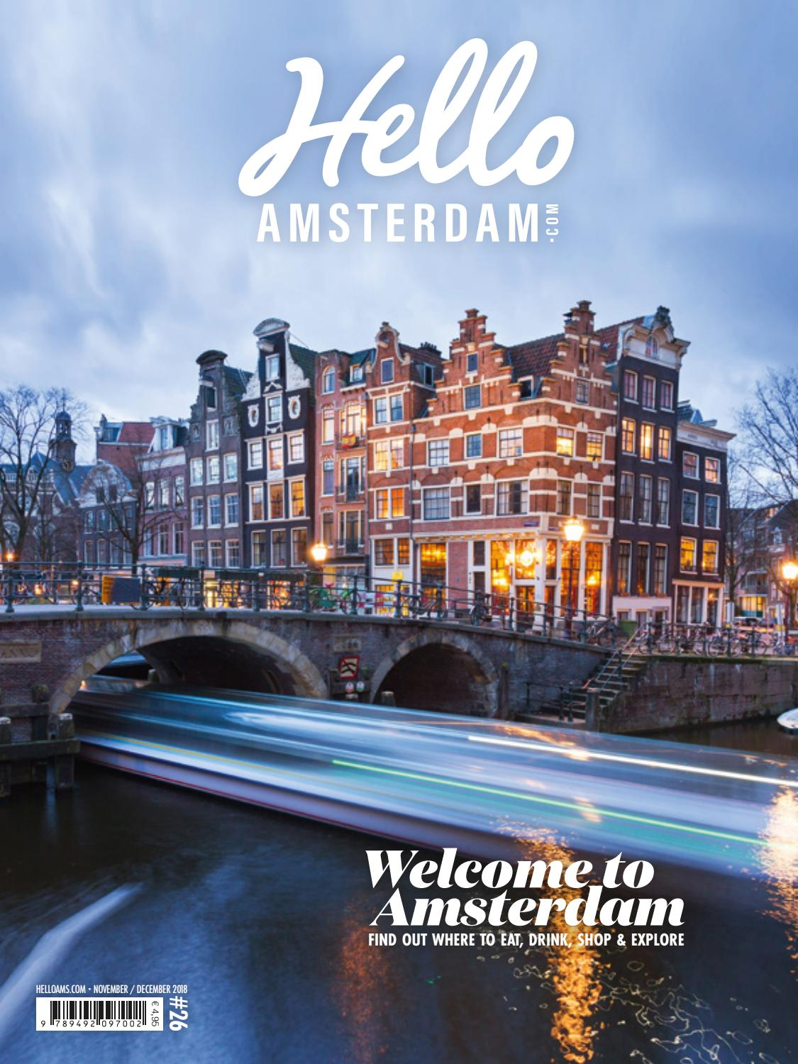 94e4cddeb Hello Amsterdam 26 - November / December 2018 by Hello Amsterdam - issuu