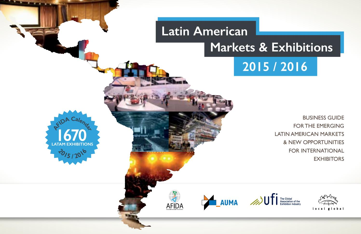 Exhibitons In Latin America 2015 16 By Local Global Gmbh Issuu