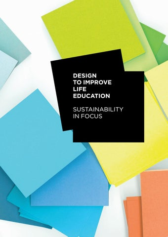 To Improve Education Focus On >> Design To Improve Life Education Sustainability In Focus By Index