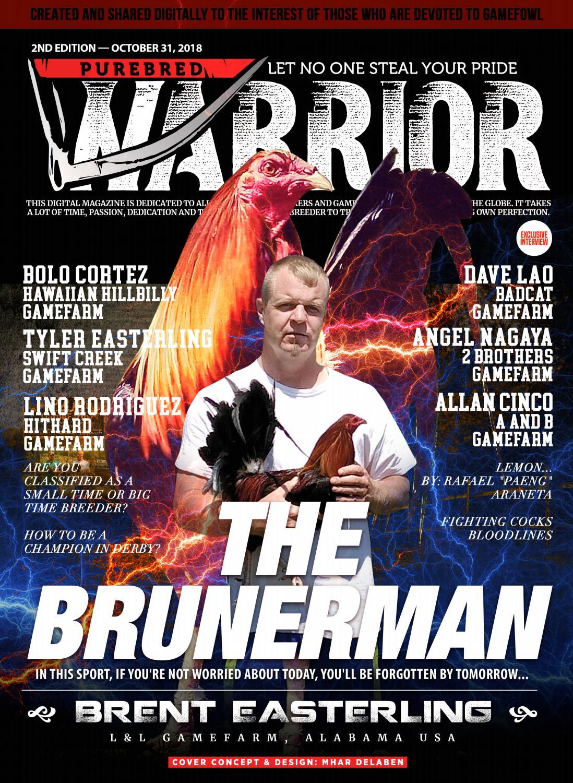 Purebred Warrior Magazine - October - 2nd Issue by Mhar