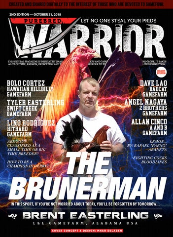 Purebred Warrior Magazine - October - 2nd Issue by Mhar