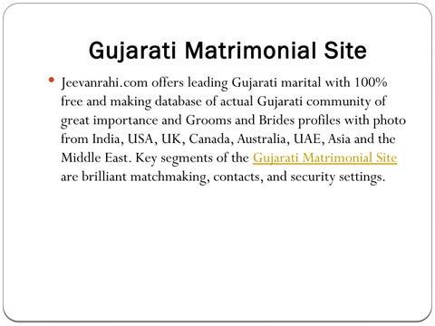 Gujarati matchmaking UK