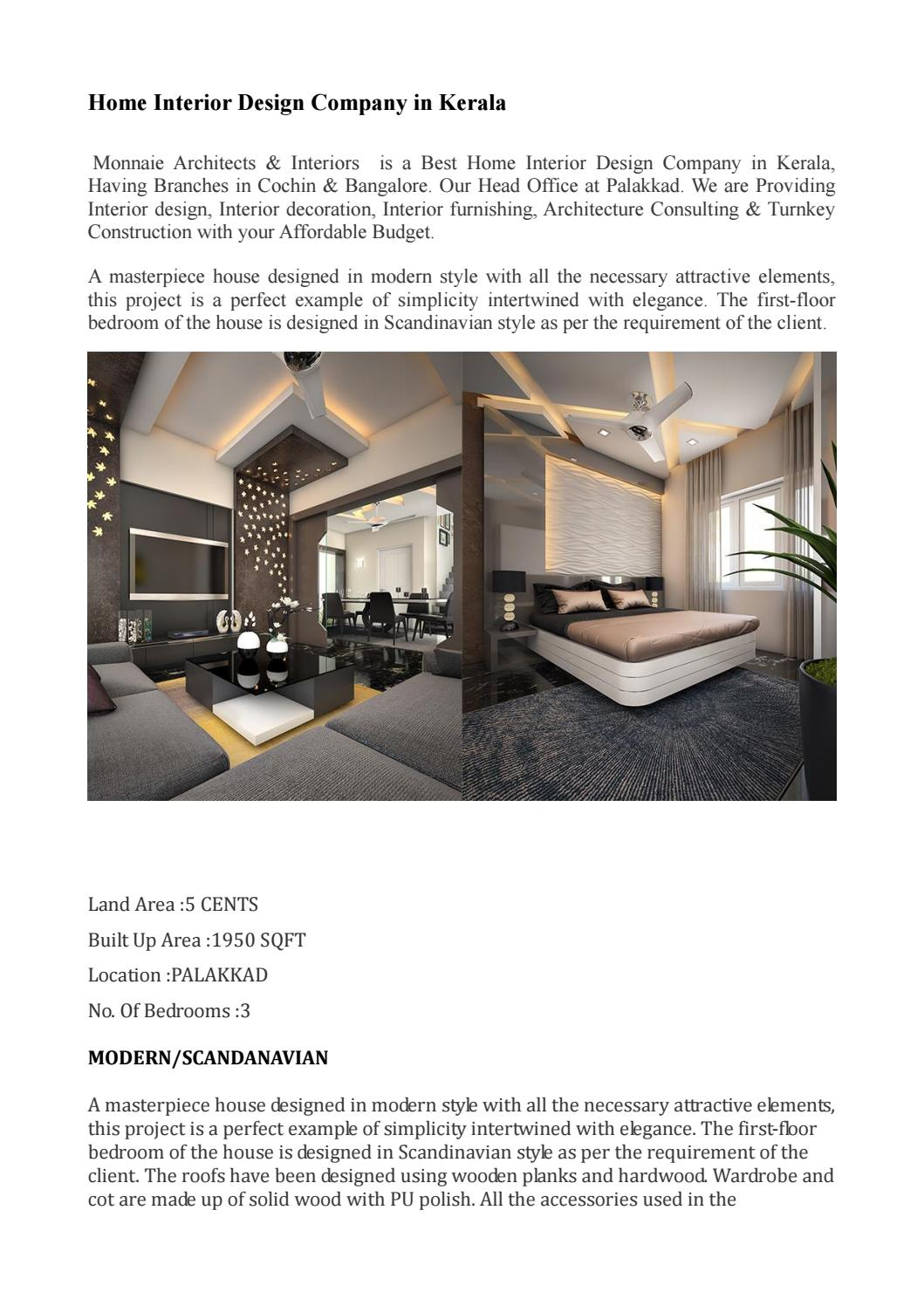 Home Interior Design Company In Kerala By Monnaie Offpage Issuu