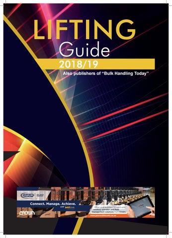 Lifting Guide 2018 by Promech Publishing - issuu