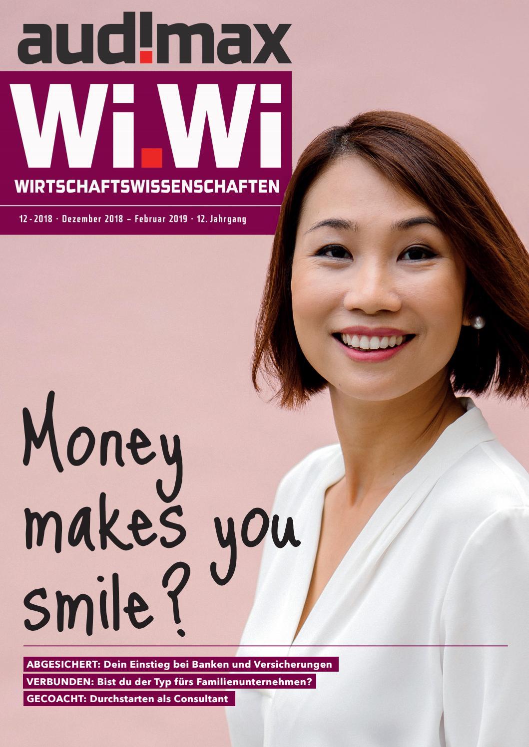 Audimax Wiwi 122018 Das Karrieremagazin Für