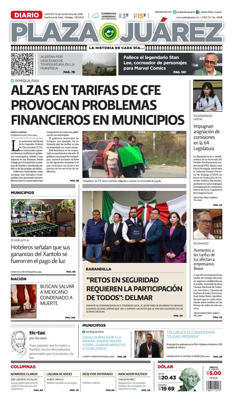 13 11 18 By Diario Plaza Juárez Issuu