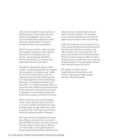 Page 82 of Facekini and Colourism