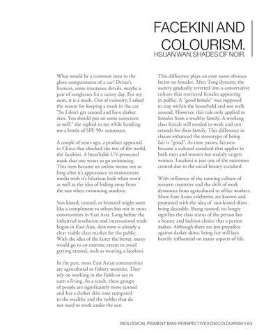 Page 83 of Facekini and Colourism