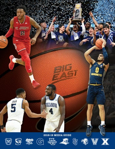 2018-19 Men s Basketball Media Guide by BIG EAST Conference - issuu 8b131a19a
