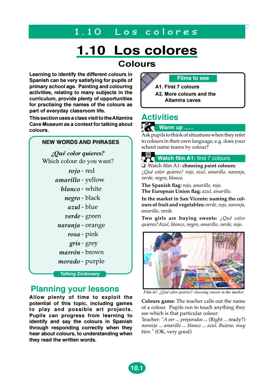 S110 Colours V11 By Early Start Languages Issuu