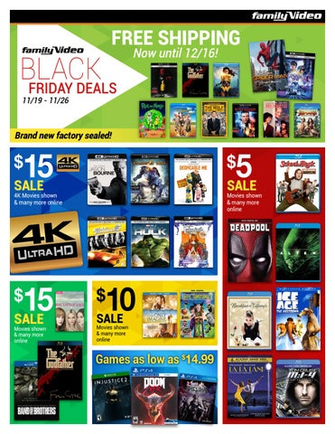 family video deals