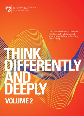 Think Differently and Deeply Volume 2 by St  Andrew's Episcopal