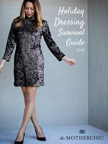 9dd975d79d7a1 The Motherchic Holiday Dressing Survival Guide 2018 by The ...
