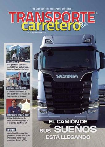 Transporte Carreteronº 277 Noviembre 2018 By Diseño Producciones