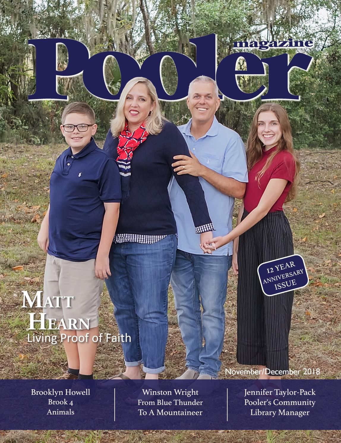 Pooler Magazine - November/December 2018 by Independence Day