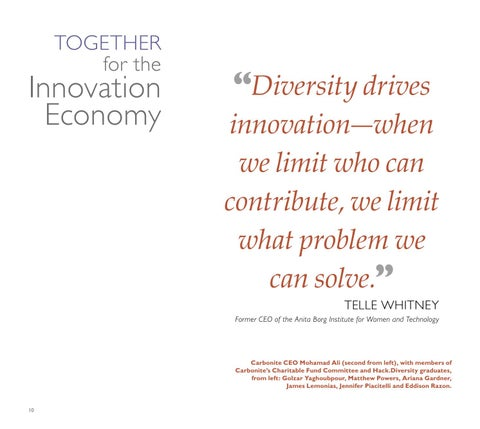 Page 12 of Together for the Innovation Economy