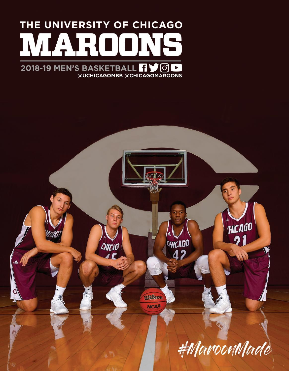 745aff6b6eb8a7 UChicago Men s Basketball Yearbook 2018-19 by University of Chicago  Athletics - issuu