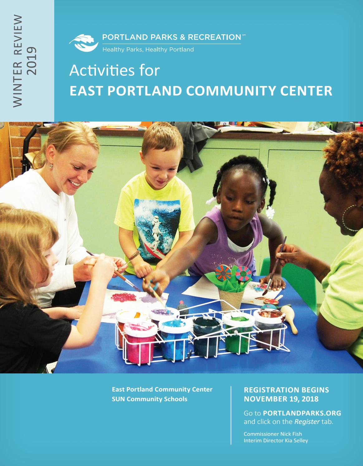 7131f3abe9e East Portland Community Center - Winter 2019 by Portland Parks   Recreation  - issuu