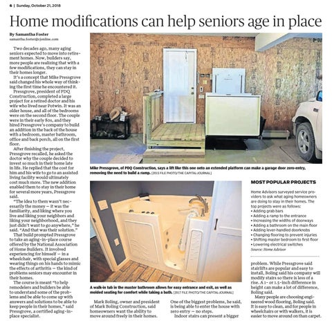 Page 6 of Home modifications can help seniors age in place