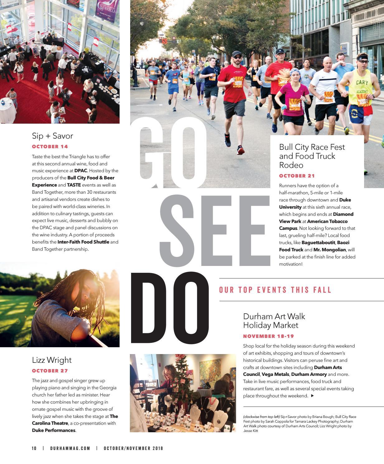 Durham Magazine Oct Nov 2018 By Shannon Media Issuu