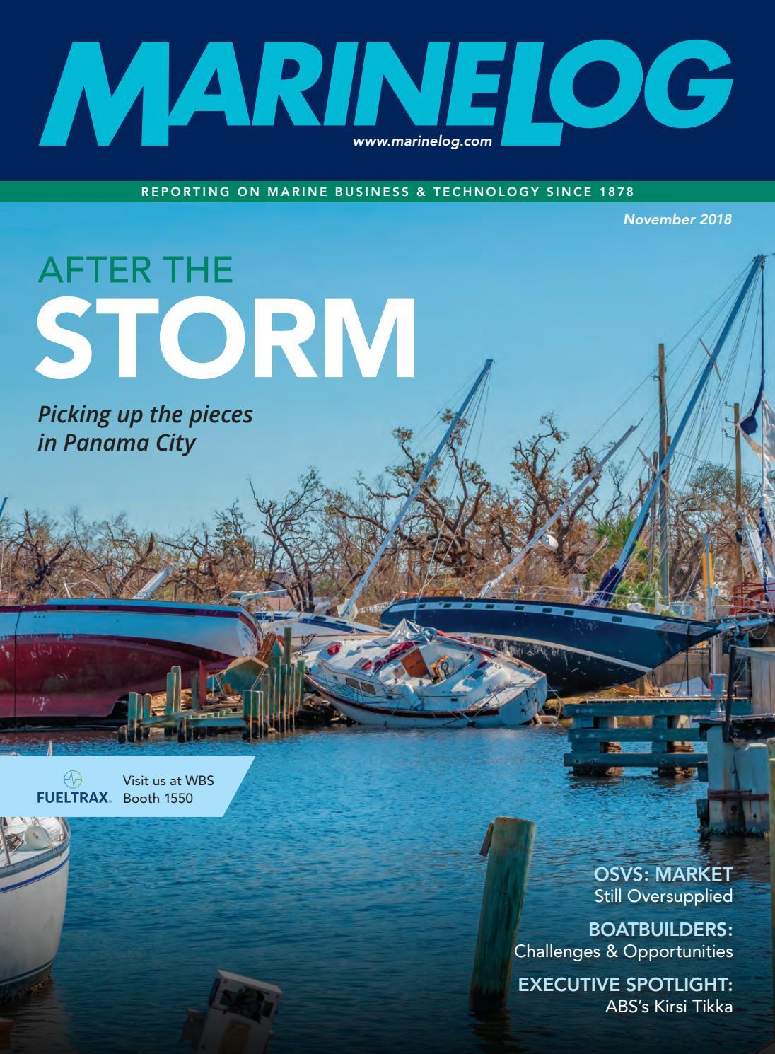 Marine Log November 2018 by Marine Log - issuu