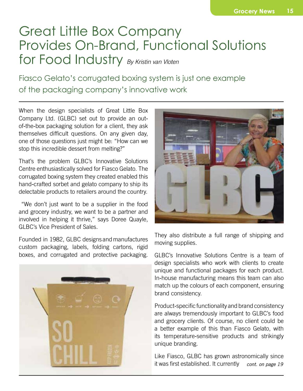 Canadian Food & Grocery Industry Guide