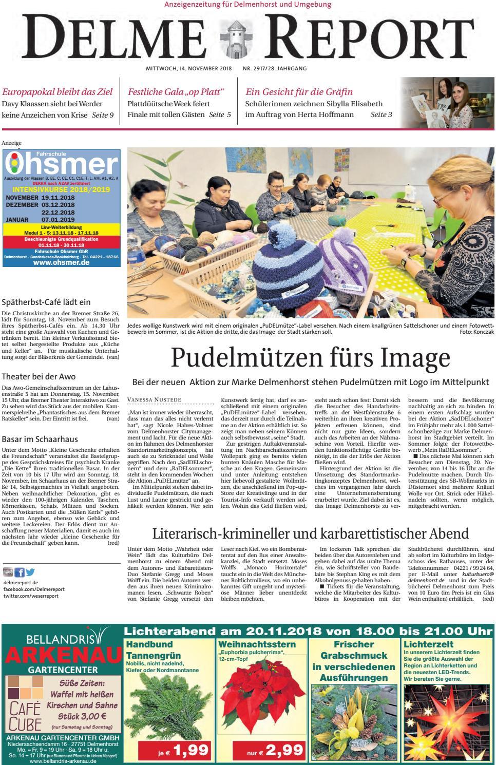 Delme Report Vom 14 11 2018 By Kps Verlagsgesellschaft Mbh Issuu