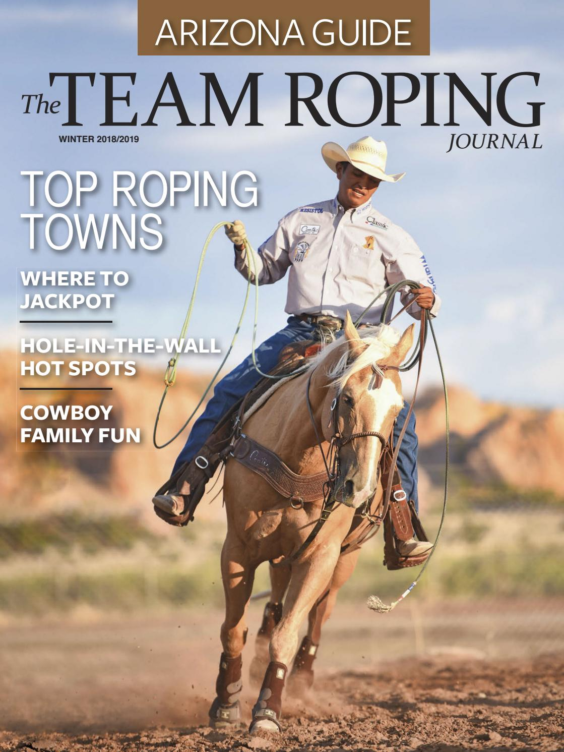 The Team Roping Journal - Arizona Guide by Active Interest Media-Boulder -  issuu