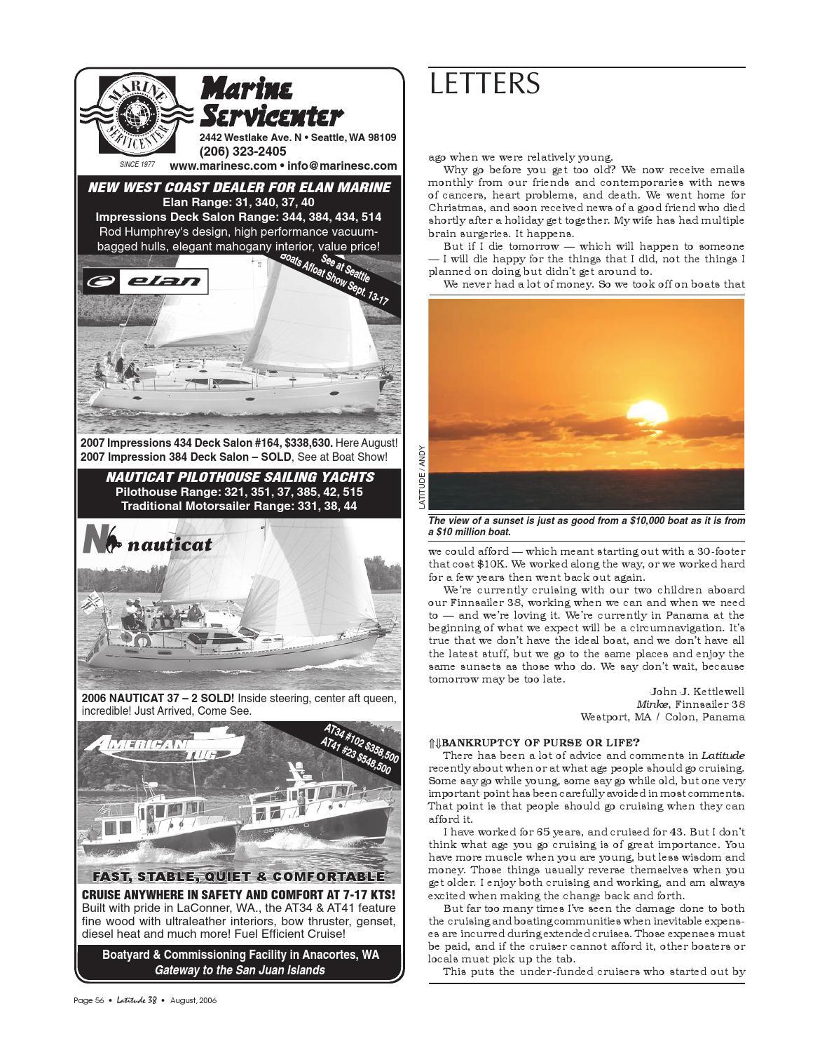 Latitude 38 August 2006