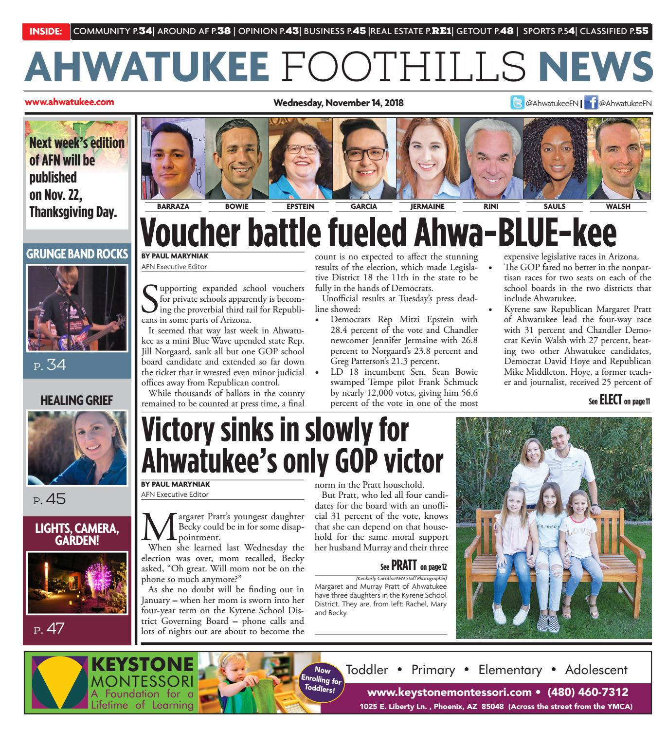Ahwatukee Foothills News November 14 2018 By Times Media Group Wiring Up Additional Front Driving Lights Veimg2420jpg Issuu