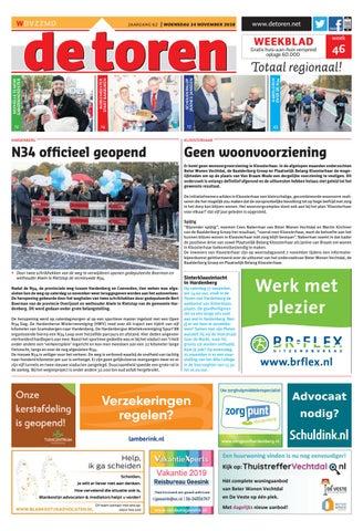 De Toren Week 46 2018 By Weekblad De Toren Issuu