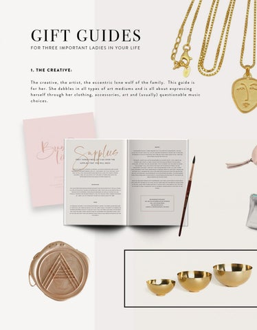 Page 42 of Gift Guide: The Creative