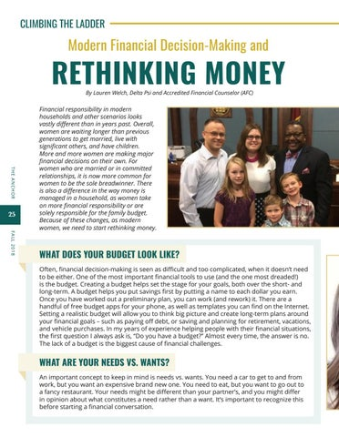 Page 26 of Modern Financial Decision Making and Rethinking Money