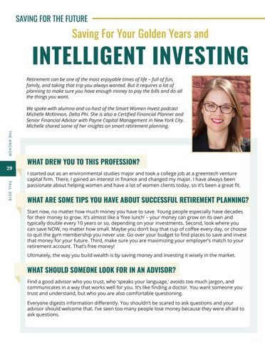 Page 30 of Saving for your Golden Years and Intelligent Investing