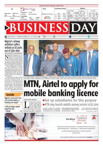 BusinessDay 14 Nov 2018 by BusinessDay - issuu