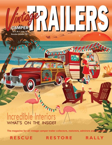 The Vintage Camper Trailers Magazine #34 by Vintage Camper