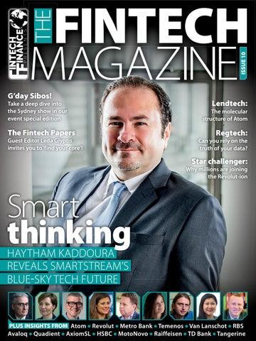 bc1738e1a Fintech Finance presents  The Fintech Magazine Issue 10 by ...