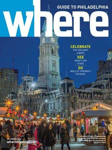 561533ca93a4 Where Magazine Philadelphia Dec 2018 by Morris Media Network - issuu