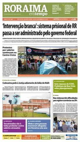 59c206ee2b2 Jornal Roraima em tempo – edição 1082 by RoraimaEmTempo - issuu