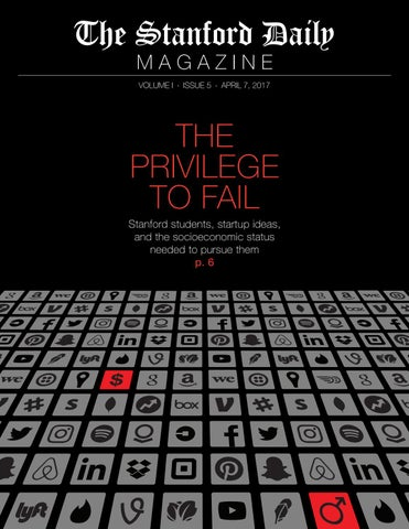 2a9e42ffe The Stanford Daily Magazine Vol. I Issue 5 (05.07.17) by The ...
