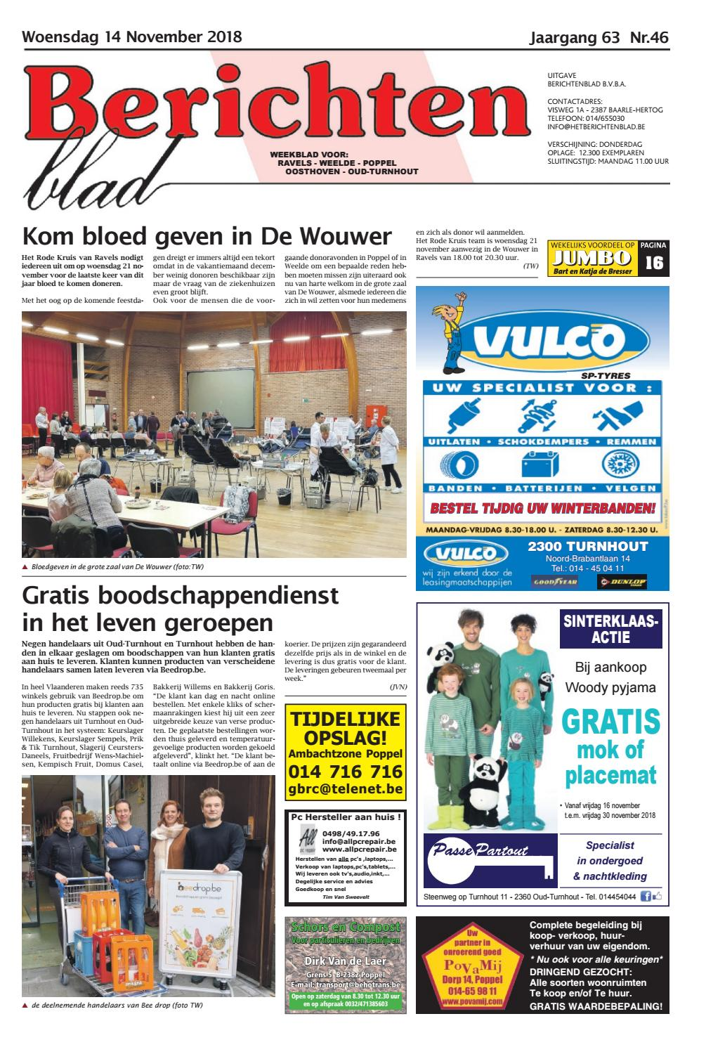 14575cd7632 Berichtenblad 14-11-2018