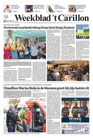 0de64fe105d Weekblad 't Carillon 14-11-2018 by Uitgeverij Em de Jong - issuu