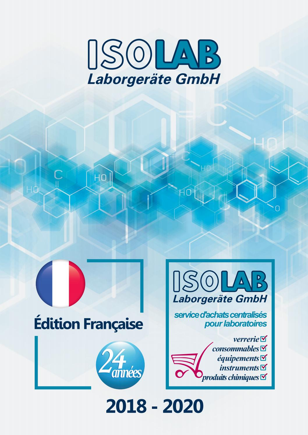 Isolab 2018 2020 Catalogue Français By Isolab Laborgeräte